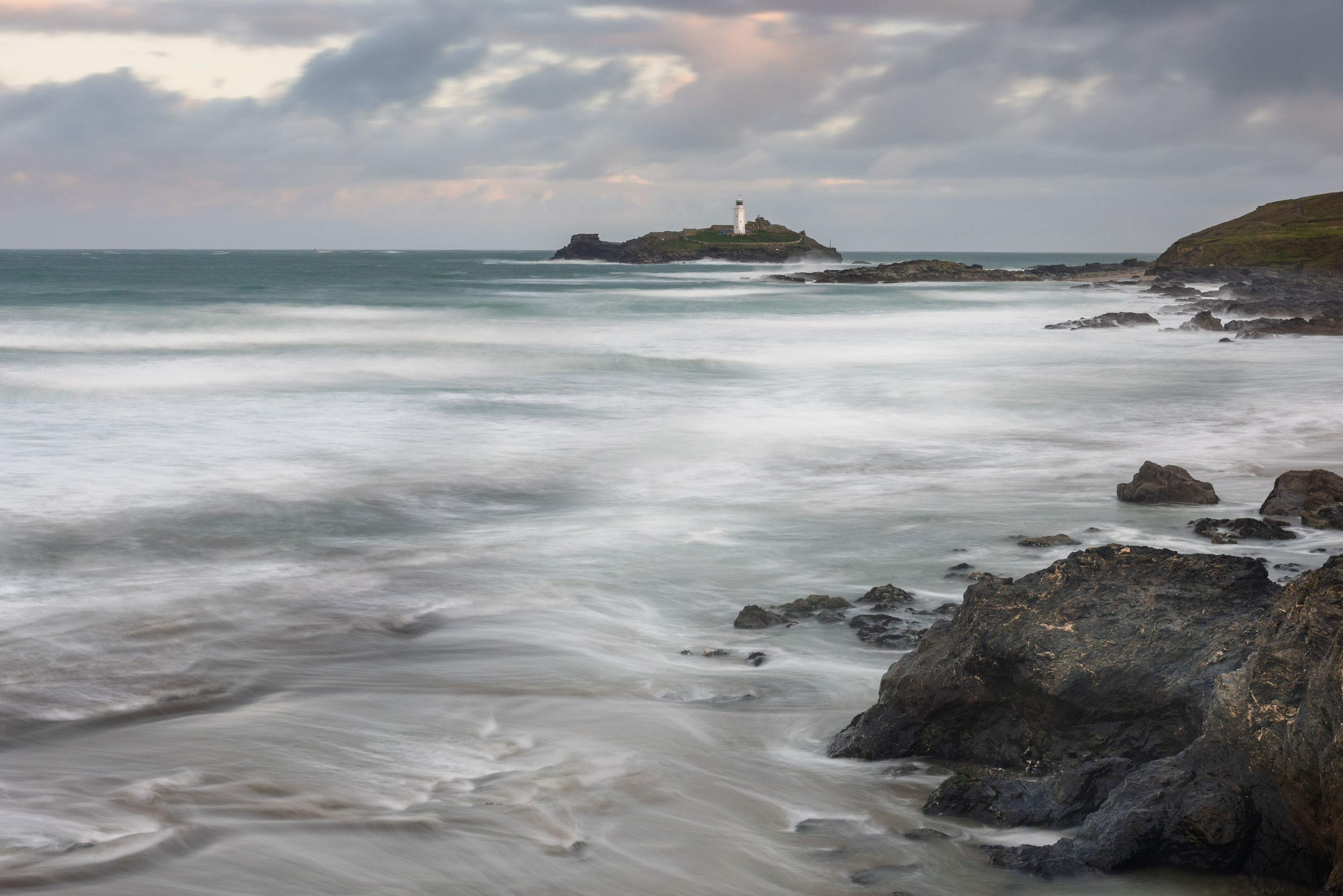 Godrevy-Lighthouse-Early-Morning-2019